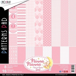 Ciao Bella - Ninna Nanna Girl Collection - Coordinating Patterns Paper Kit