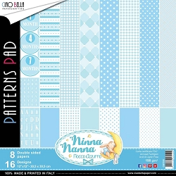 Ciao Bella - Ninna Nanna Boy Collection - Coordinating Patterns Paper Kit