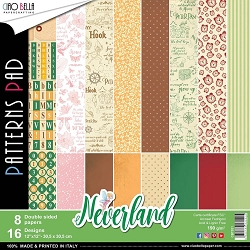 Ciao Bella - Neverland Collection - Coordinating Patterns Paper Kit