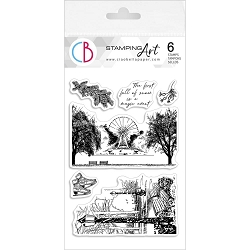 Ciao Bella - The First Fall Of Snow Clear Stamp Set