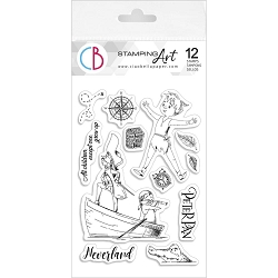 Ciao Bella - Peter Pan Clear Stamp Set