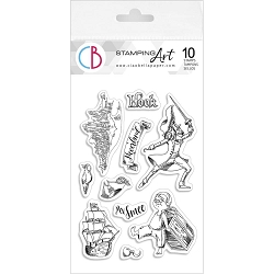 Ciao Bella - Hook & Mr Smee Clear Stamp Set