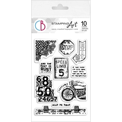 Ciao Bella - Speed Limit Clear Stamp Set
