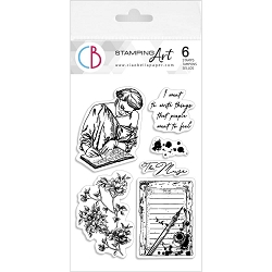 Ciao Bella - Muse Clear Stamp Set