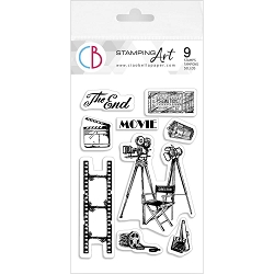 Ciao Bella - The Director Clear Stamp Set