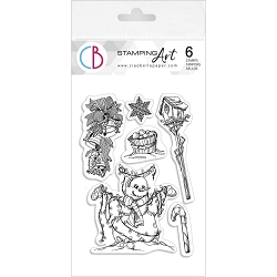 Ciao Bella - Winter Lights Clear Stamp Set