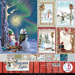 Ciao Bella - Northern Lights Collection - Paper Collection Kit