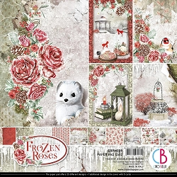 Ciao Bella - Frozen Roses Collection - Paper Collection Kit
