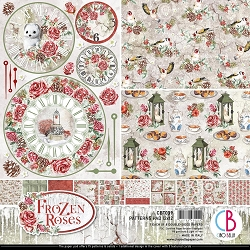 Ciao Bella - Frozen Roses Collection - Coordinating Patterns Paper Kit