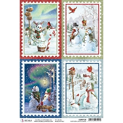 Ciao Bella - Northern Lights Collection - Stamps Piuma Rice Paper