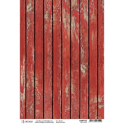 Ciao Bella - Northern Lights Collection - Red Wood Piuma Rice Paper