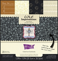 Core'Dinations Core Impressions - Jenni Bowlin Everyday Collection 12x12 Paper Pad :)