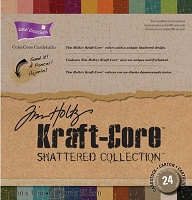 Kraft Core Shattered Colors