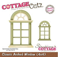 Cottage Cutz - Dies - Classic Arched Window