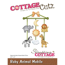Cottage Cutz - Die - Baby Animal Mobile