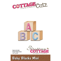 Cottage Cutz - Die - Baby Blocks Mini