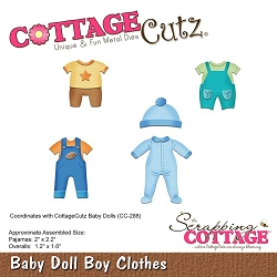 Cottage Cutz - Die - Baby Doll Boy Clothes