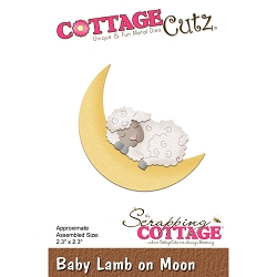 Cottage Cutz - Die - Baby Lamb On Moon