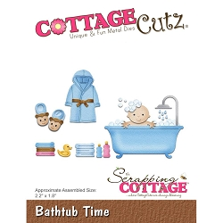 Cottage Cutz - Die - Bathtub Time