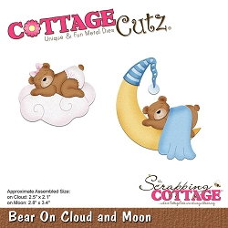Cottage Cutz - Die - Bear On Cloud & Moon