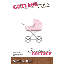 Cottage Cutz - Die - Stroller Mini