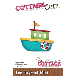 Cottage Cutz - Die - Toy Tugboat