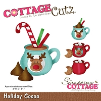 Cottage Cutz - Die -  Holiday Cocoa