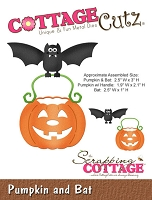 Cottage Cutz - Die - Pumpkin and Bat