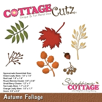 Cottage Cutz - Die - Autumn Foliage