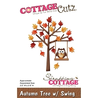Cottage Cutz - Die - Autumn Tree w/ Swing