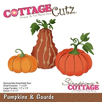 Cottage Cutz - Die - Pumpkins & Gourds