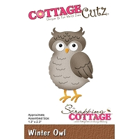 Cottage Cutz - Die - Winter Owl