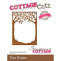 Cottage Cutz - Die - Tree Frame