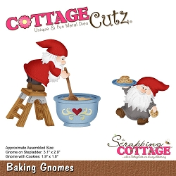 Cottage Cutz - Die - Baking Gnomes