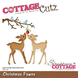Cottage Cutz - Die - Christmas Fawns