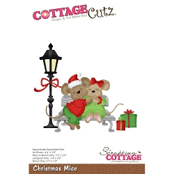 Cottage Cutz - Die - Christmas Mice