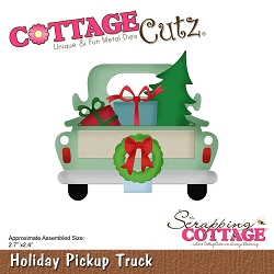 Cottage Cutz - Die - Holiday Pickup Truck