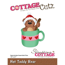 Cottage Cutz - Die - Hot Toddy Bear