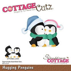 Cottage Cutz - Die - Hugging Penguins