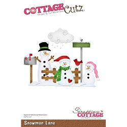 Cottage Cutz - Die - Snowman Lane