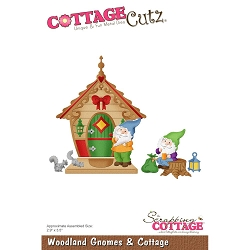 Cottage Cutz - Die - Woodland Gnomes & Cottage
