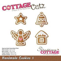 Cottage Cutz - Die - Handmade Cookies 1