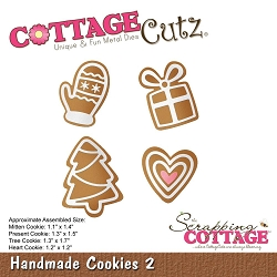 Cottage Cutz - Die - Handmade Cookies 2