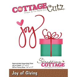 Cottage Cutz - Die - Joy Of Giving
