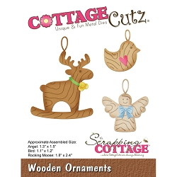 Cottage Cutz - Die - Wooden Ornaments
