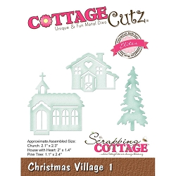 Cottage Cutz - Die - Christmas Village 1 (Elite)
