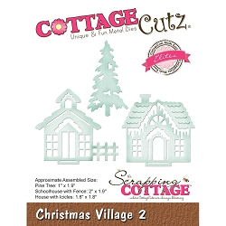 Cottage Cutz - Die - Christmas Village 2 (Elite)
