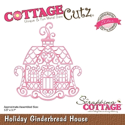 Cottage Cutz - Die - Holiday Gingerbread House (Elite)