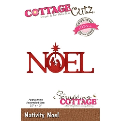 Cottage Cutz - Die - Nativity Noel (Elite)