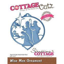 Cottage Cutz - Die - Wise Men Ornament (Elite)
